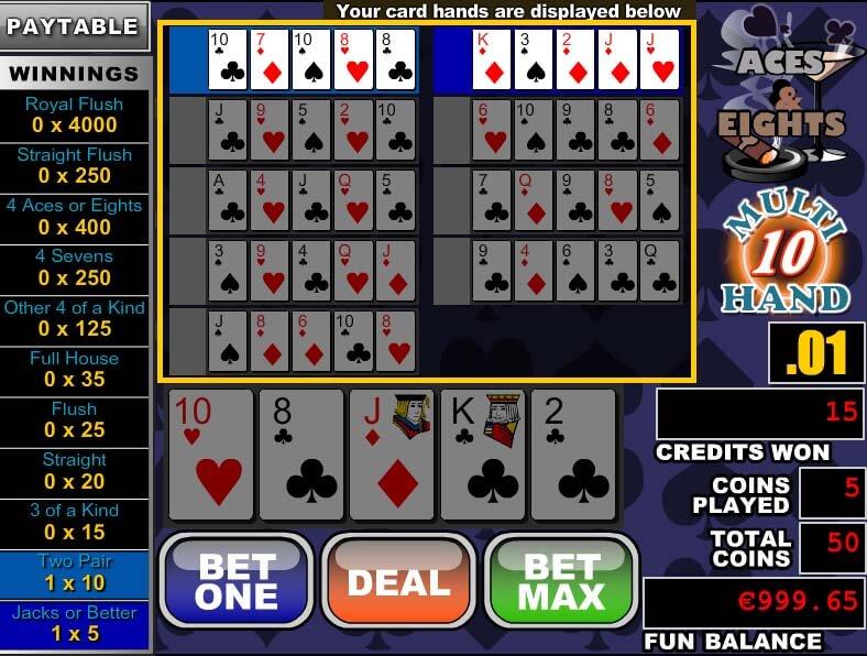 Silversands Online Casino Poker