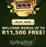 Get a Welcome Treat Worth R11500 from Springbok Casino this 2020