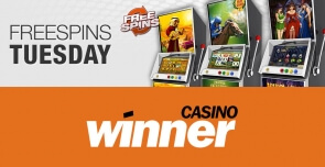 Winner Casino Turns Dull Tuesdays to Winning Days With its Free Spins Tuesdays