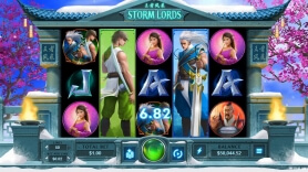 Storm Lords from RTG Set to Land on Springbok Casino